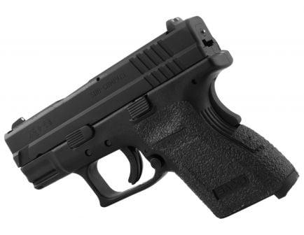 Talon Grips Rubber Pistol Grip for Springfield XD Subcompact 9mm/.40, Black - 203R