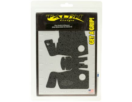 Talon Grips Rubber Pistol Grip for Smith & Wesson SD9/40/SD9VE, Black - 708R