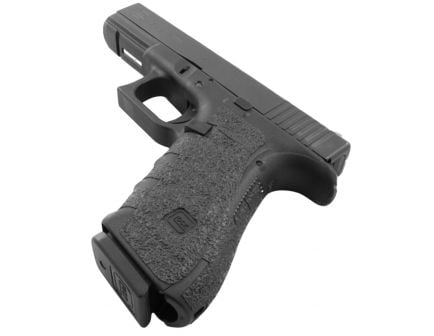 Talon Grips Rubber Pistol Grip for Glock 19/23/25/32/38 Gen 4 Medium Backstrap, Black - 111R