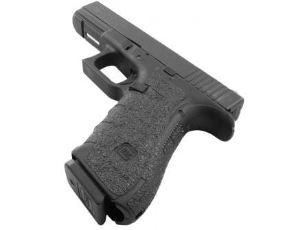 Talon Grips Rubber Pistol Grip for Glock 17/22/24/31/34/35/37 Gen 4 No Backstrap, Black - 113R