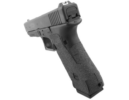 Talon Grips Granulate Pistol Grip for Glock 17/22/24/31/34/35/37 Gen 4 No Backstrap, Black - 113G