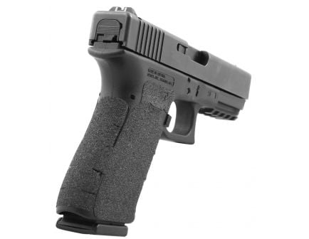 Talon Grips Granulate Pistol Grip for Glock 19 Gen 5, Black - 373G