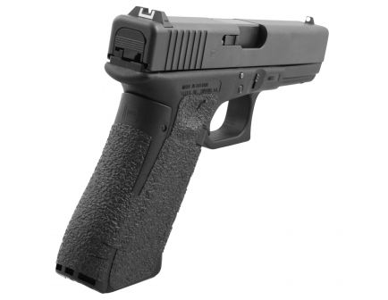 Talon Grips Rubber Pistol Grip for Glock 19 Gen 5 Medium Backstrap, Black - 374R