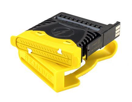 Taser 2-Pack Reload Air Cartridge for X2 Professional Stun Gun, Black/Yellow - 22149