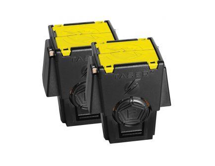 Taser 2-Pack Reload Air Cartridge for X26P Professional Stun Gun, Black/Yellow - 34220