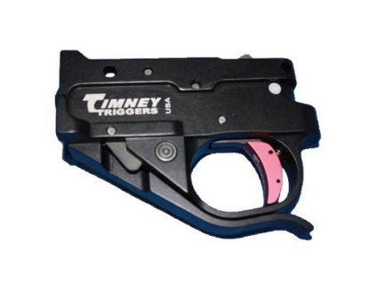 Timney Triggers Curved Drop-in Single-Stage Trigger for Ruger 10/22 Semi-Automatic Rifles, Silver/Black - 1022-1C-16
