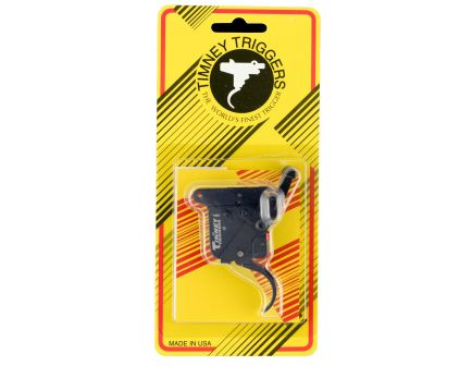 Timney Triggers Featherweight Deluxe Thin Drop-in Right Hand Trigger for Remington 700 Rifles, Black - 510THIN