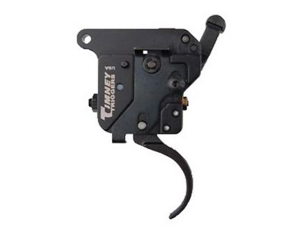 Timney Triggers Featherweight Deluxe Curved Drop-in Single-Stage Trigger for Remington 7mm Rifle, Black - 521
