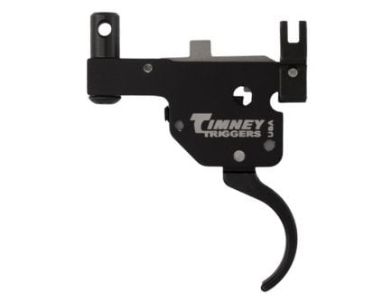 Timney Triggers Featherweight Curved Drop-in Trigger for Ruger M77 (Tang Safety) Rifles, Black - 601