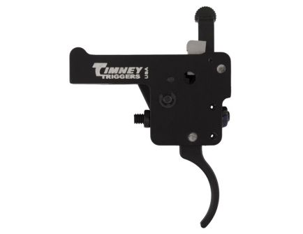 Timney Triggers Featherweight Deluxe Curved Drop-in Trigger for Howa 1500 Firearm, Nickel Plated - 609-16