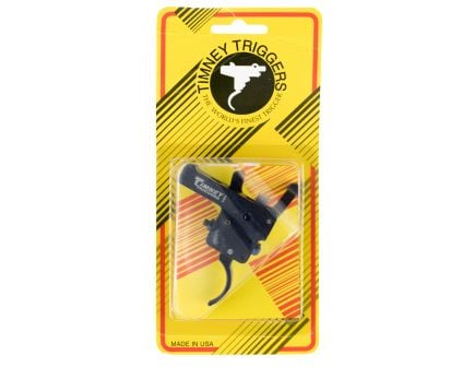 Timney Triggers Curved Drop-in Trigger for Weatherby Vanguard and Howa 1500 Rifles, Black - 611