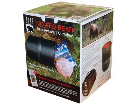 UDAP Industries No-Fed-Bear Bear Resistant Food Container/Canister - BRC