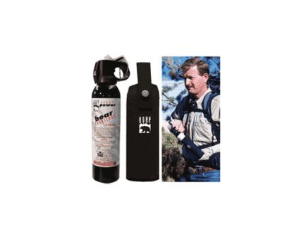 UDAP Industries Magnum Bear Spray w/ Chest Holster, 9.2 oz Aluminum Can - 15CP
