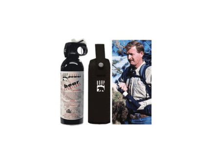 UDAP Industries Super Magnum Bear Spray w/ Chest Holster, 13.4 oz Canister - 18CP