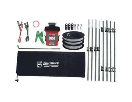 UDAP Industries Bear Shock Ultra Lightweight Electric Fence Kit - BEF