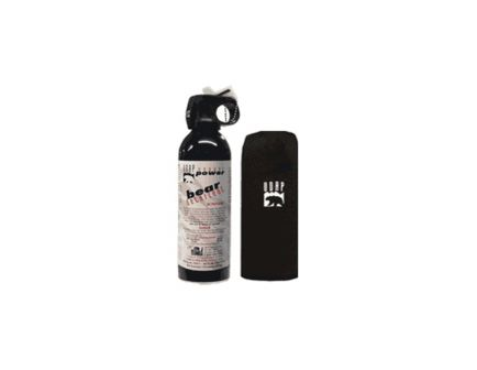 UDAP Industries Super Magnum Bear Spray w/ Hip Holster, 13.4 oz Canister - 18HP