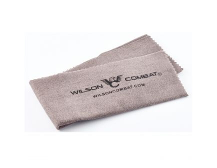 Wilson Combat Silicone Cleaning Cloth, WC Logo, Gray - 267