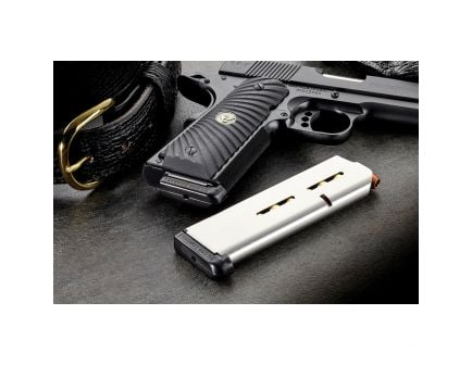 Wilson Combat 7 Round .45 ACP 1911 Detachable Magazine w/ Standard Base Pad, Stainless Steel - 47