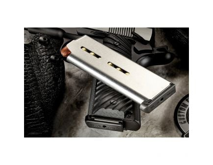 Wilson Combat 7 Round .45 ACP 1911 Detachable Magazine w/ Low-Profile Steel Base Pad, Stainless Steel - 47C