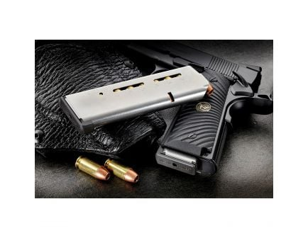 Wilson Combat 8 Round .45 ACP 1911 Detachable Magazine w/ Low-Profile Base Pad, Stainless Steel - 47DC