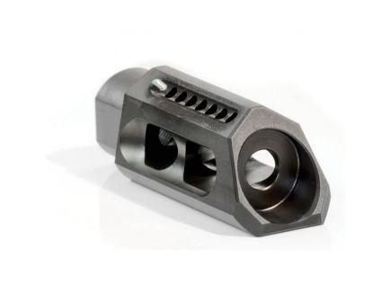 Yankee Hill Machine 5/8-24 Slant Muzzle Brake, .30, Matte Black - 3085-MB-A
