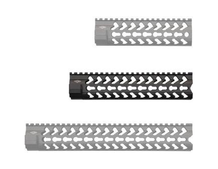 "Yankee Hill Machine SLK KeyMod 9.25"" AR-15 Mid-Length Free Float Handguard, Matte Black - 5240"