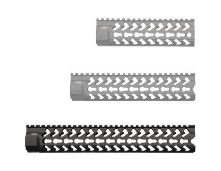 "Yankee Hill Machine SLK KeyMod 12.6"" AR-15 Rifle Length Free Float Handguard, Matte Black - 5260"