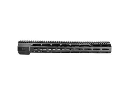 "ZevTech M-LOK 16.625"" AR-10 Large Frame Wedge Lock 2-Piece Free Float Handguard, Black - HG-308-WEDGE-16"