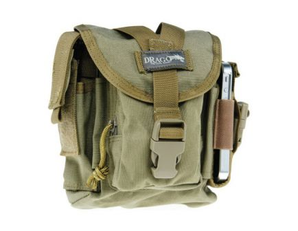 Drago Gear Water-Resistant Tactical Patrol Pack Case, Tan - 16-302TN