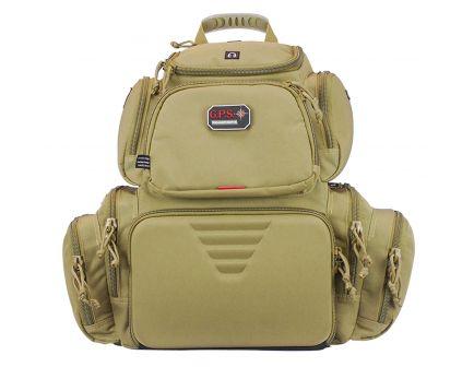 G Outdoors Handgunner Range Backpack, Tan - 1711BPT