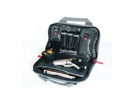 G Outdoors Quad Pistol Range Bag Case, Black - 1310PC