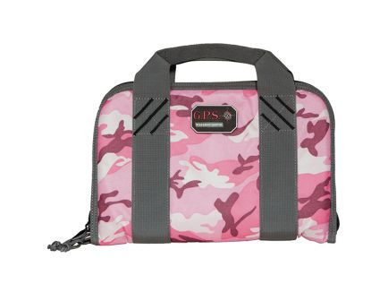 G Outdoors Double Pistol Case, Pink - 1308PCPK