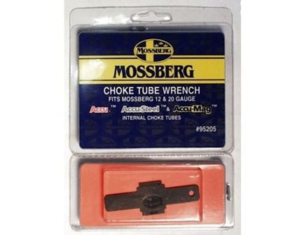 Mossberg ACCU Black Wrench Choke, 10/12/16/20 Gauge - 95205
