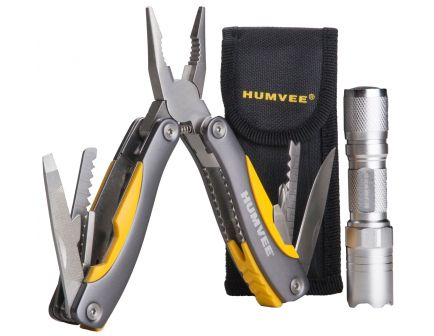 """CampCo Humvee Stainless Steel Combo Multi-Purpose Tool, 12"""" L - HMVCP10"""