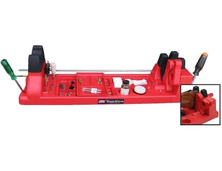 MTM Case Gard Red Polypropylene Gun Vise Cleaning Maintenance Center - GV30