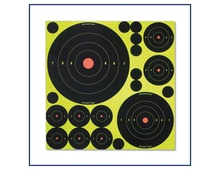 Birchwood Casey Shoot*N*C Self-Adhesive Targets Variety Pack 34018