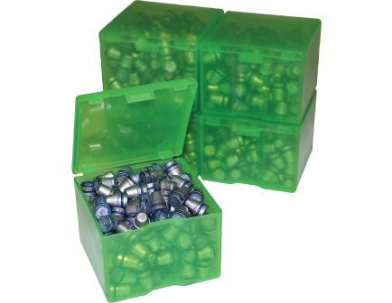 MTM Case Gard 9mm 200 Round Cast Bullet Box, Clear Green, 2/pack - CAST116