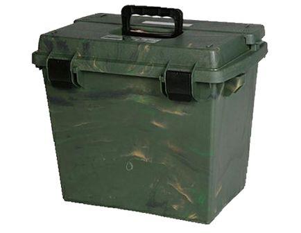 MTM Case Gard Sportsmen's Plus SPUD-7 Large Utility Dry Box, Green Wild Camo - SPUD709