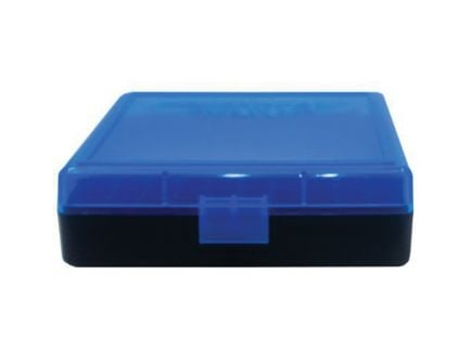 Berrys Bullets 001 100 Round Flip-Top Ammo Box, Blue/Black - 69874