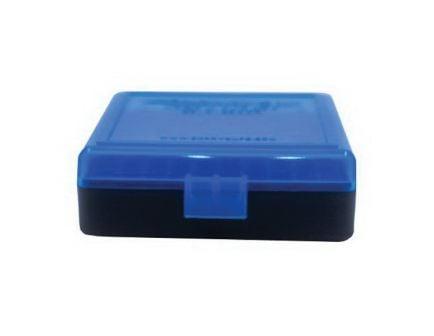 Berrys Bullets .22lr 100 Round Flip-Top Ammo Box, Blue/Black - 83500