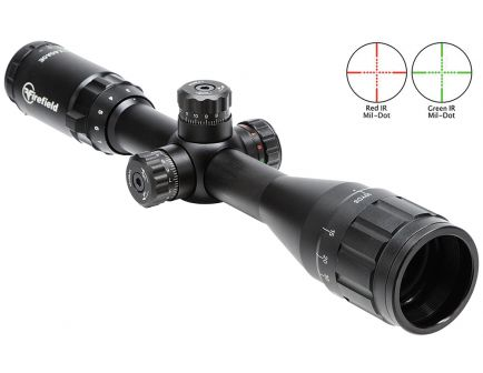 Firefield 3-12x40mm Illuminated Mil-Dot (SPF) Tactical Rifle Scope - FF13043