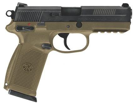 FN America FNX-45 .45 ACP Consumer Pistol, FDE - 66965