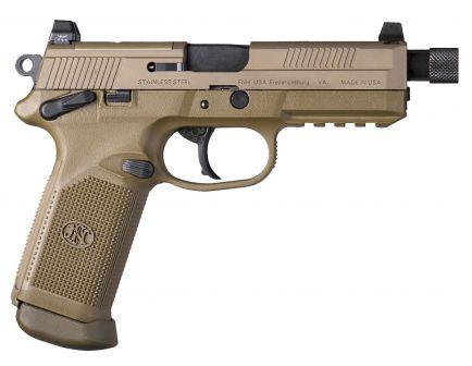 FN America FNX-45 Tactical .45 ACP Consumer Pistol, FDE - 66982