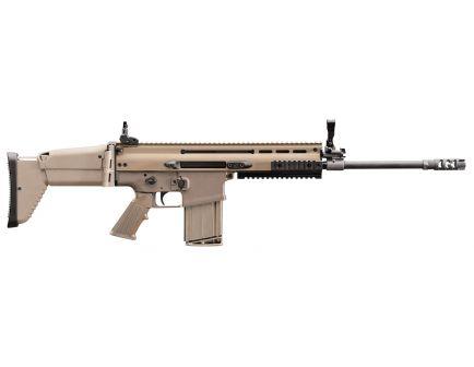 FN America FN SCAR 17S .308 Win/7.62 Semi-Automatic AR-10 Rifle, FDE - 98641-1