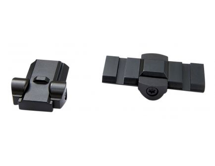 Burris Ruger to Weaver Base Adapter for Mini 14 Redhawk Firearms, Matte Black - 410991