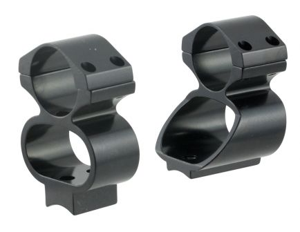 Ironsighter Ruger 44 Aluminum Alloy See-Thru Scope Mount, Black - 735