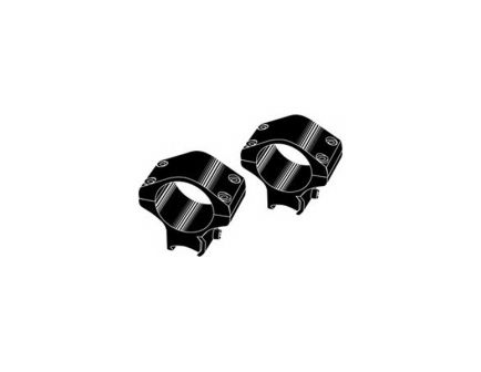 "Kwik-Site 1"" Steel Non See-Thru Grooved 2-Piece Receiver Mount, Black - KSN-T0221"