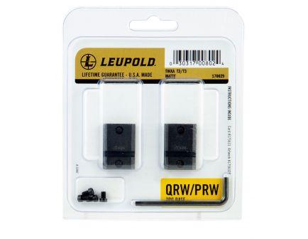 Leupold QRW Winchester/Tikka T3/T3x Steel 2-Piece Scope Base, Matte Black - 170029