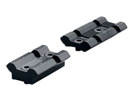 Leupold & Stevens Rifleman Savage 10/110 Aluminum 2-Piece Scope Base, Matte Black - 170385