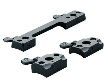 Leupold Browning BAR Steel 2-Piece Quick Release Scope Base, Matte Black - 51223
